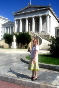 Annika in Greece